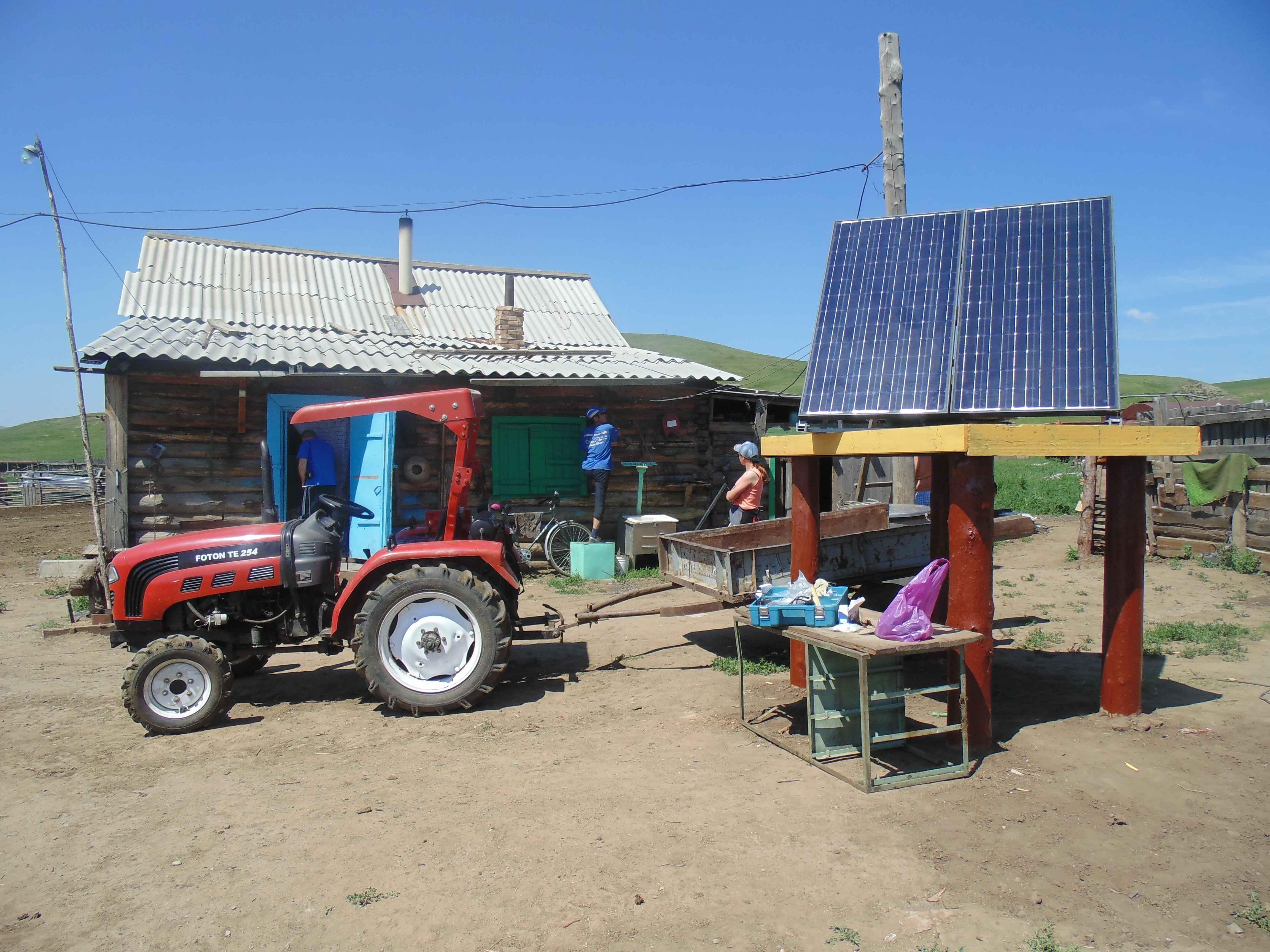 Платформа для солнечных панелей