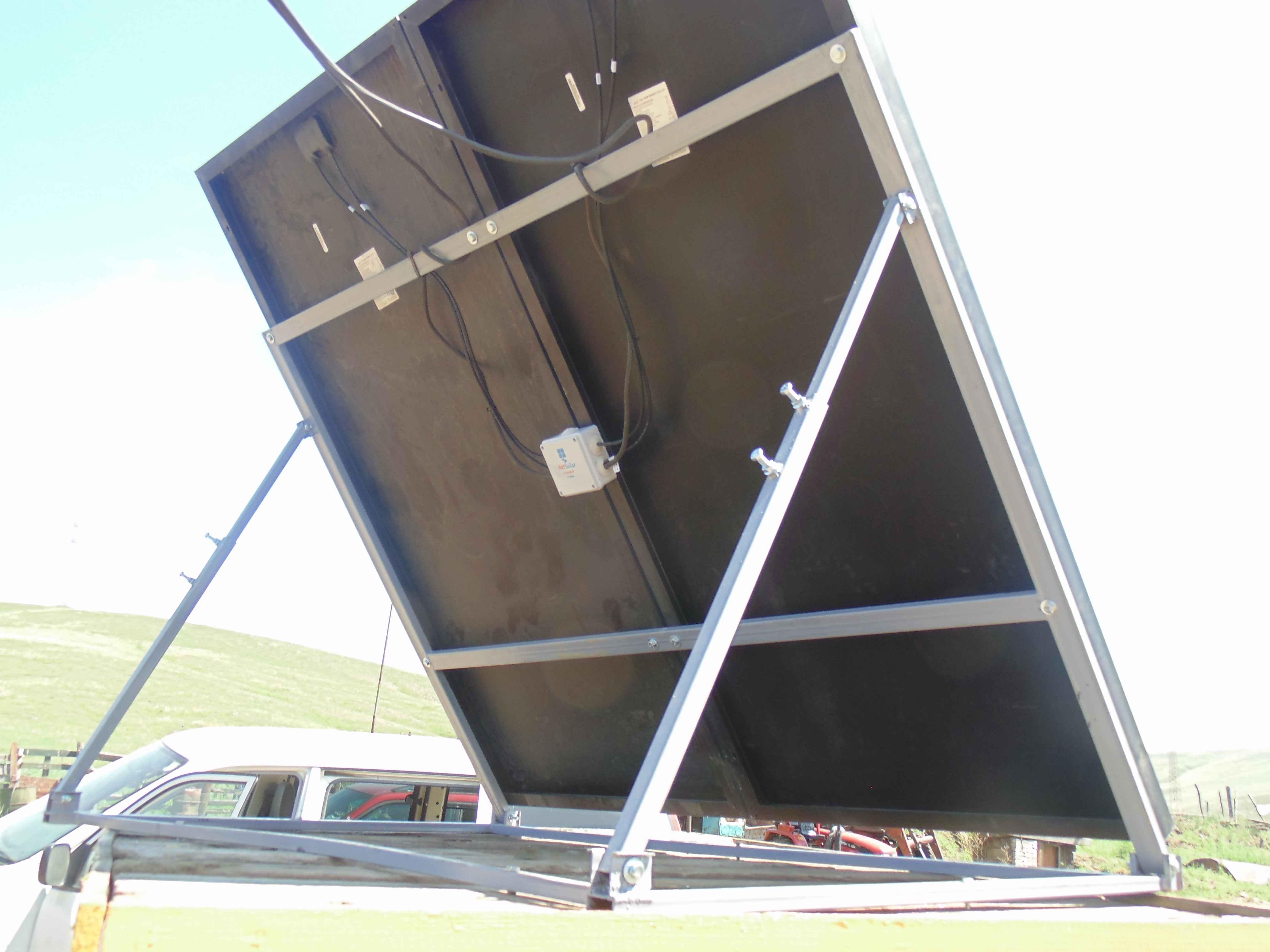 Рамка для установки солнечных панелей
