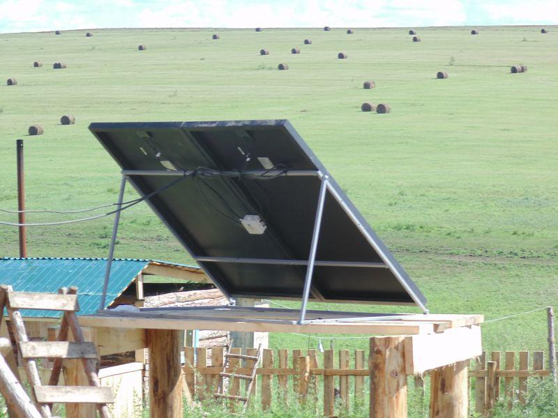 Солнечная станция в с. Нижние Ключи