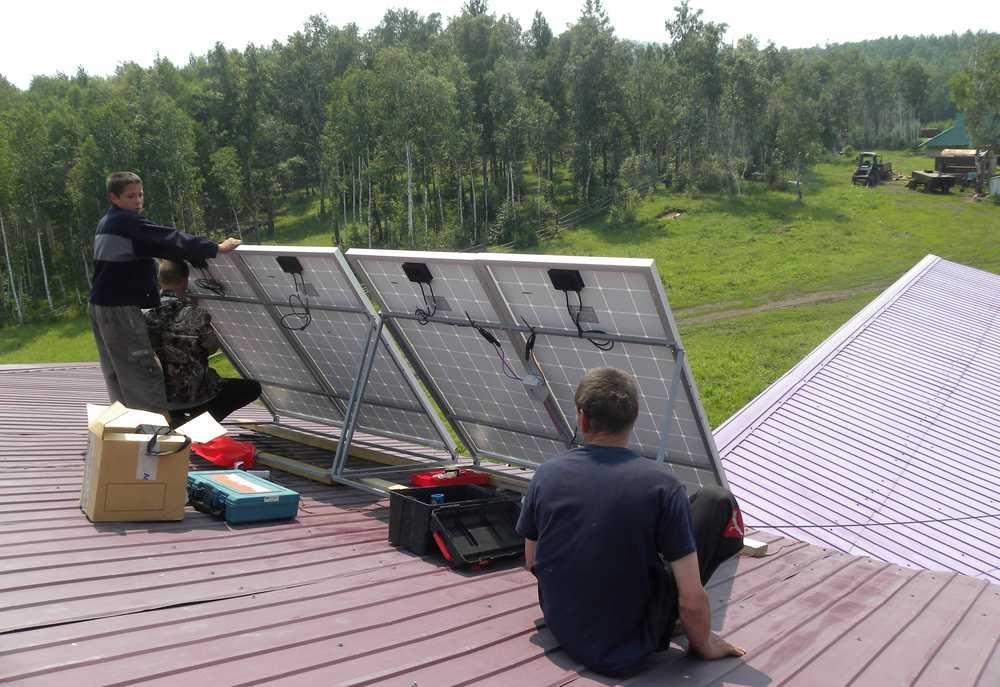 Солнечная электростанция в Кадахте