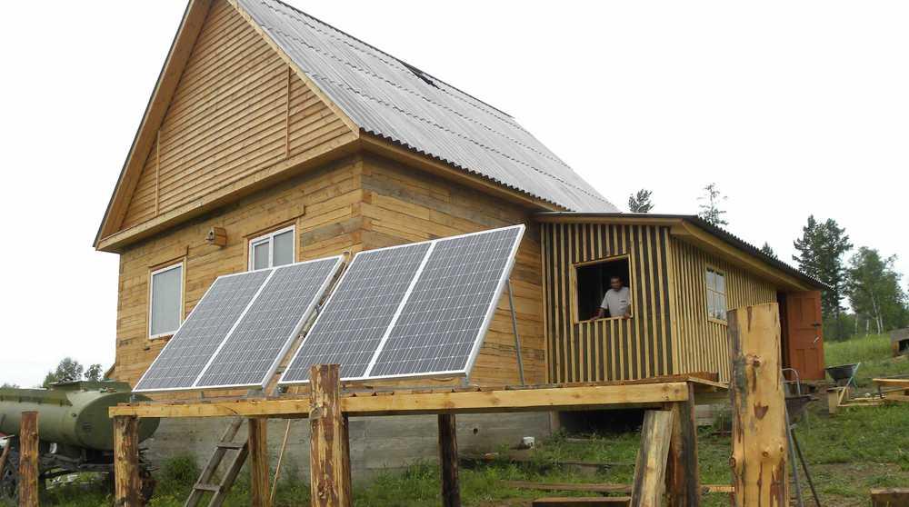 Автономная солнечная электростанция в с.Новокручининское, Читинский район