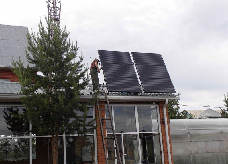 Солнечная электростанция в Сенной пади