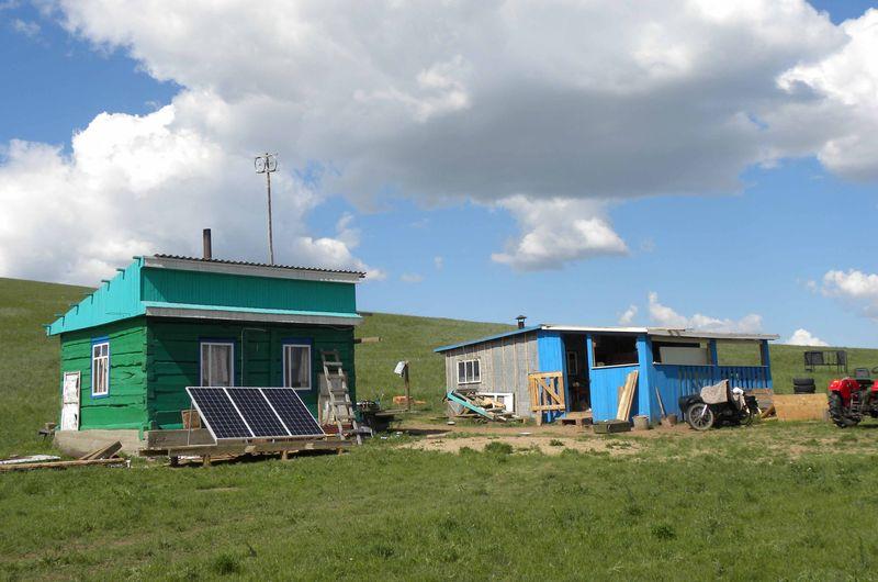 Солнечная электростанция в Точкине
